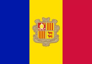 Andorra National Flag