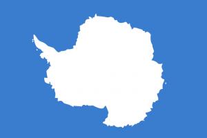 flag of antartica