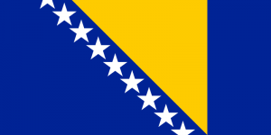 National Flag of Bosnia