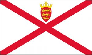national flag of Jersey