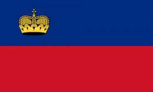 National flag of Liechtenstein