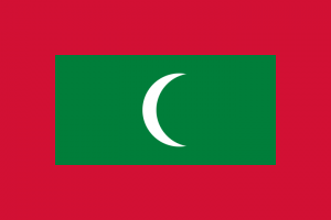 national flag of Maldives Islands