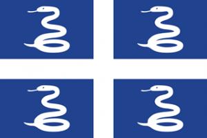 national flag of Martinique