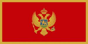 national flag of Montenegro