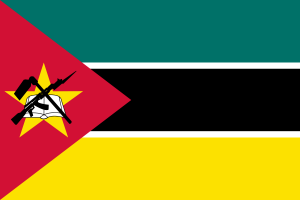 national flag of Mozambique