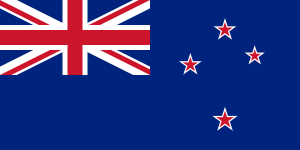 National flag of New Zealand