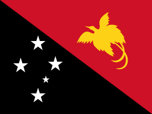 National flag of papua new guinea