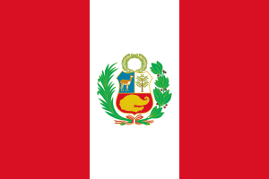 National flag of Peru