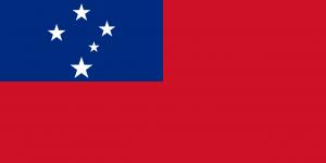 National Flag of Samoa