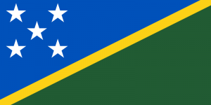 National Flag of Solomon Islands