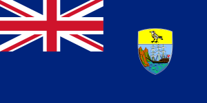 National flag of St Helena