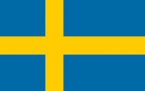 National Flag of Sweden