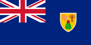 National Flag of Turks & Caicos Islands