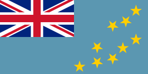 National Flag of Tuvalu