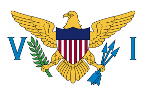 National Flag of Virgin Islands (USA)
