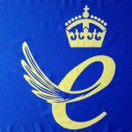 Queens award flag
